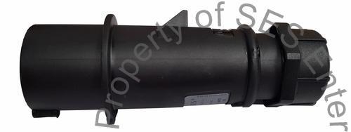 16A Black plug